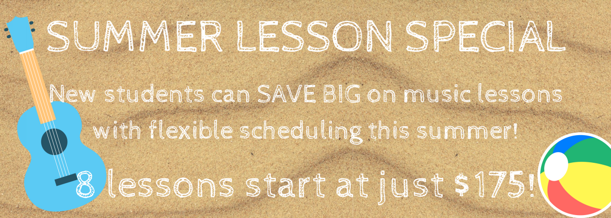 Summer Lesson Special banner