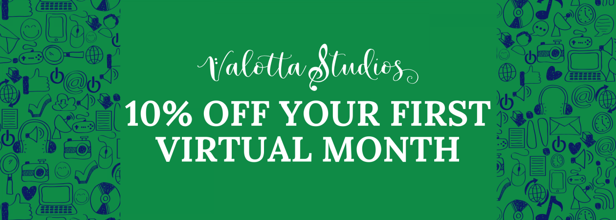 10% off your first Virtual Month