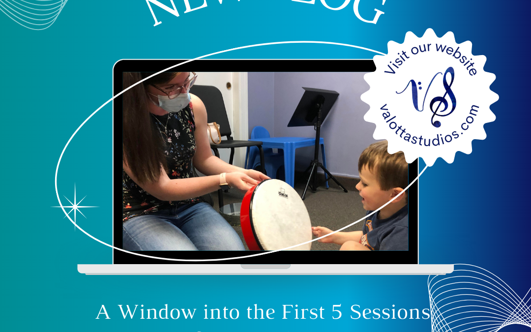 A Window into the First 5 Sessions of Music Therapy
